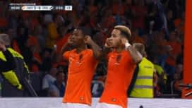 Ligue des Nations : Pays-Bas - Allemagne : (90+3') : but de Georginio Wijnaldum (3 - 0)