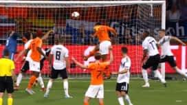 Ligue des Nations : Pays Bas - Allemagne (30') : but de Virgil Van Dijk (1 - 0)