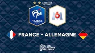 Equipe de France : France - Allemagne : buts et temps forts