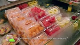 E = M6 spécial Nutrition : Fruits et légumes : comment les consommer plus rapidement ?