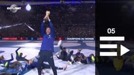Equipe de France : Les Bleus célèbrent leur titre mondial au Stade de France : le top vidéos