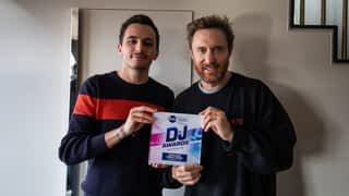 David Guetta en interview dans Fun Radio Amsterdam