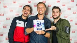 Armin Van Buuren en interview dans Fun Radio Amsterdam
