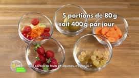 E = M6 spécial Nutrition : Une portion de fruits et légumes, c'est quoi ?
