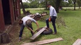 Rénovation insolite : Une cabane de chasse chic
