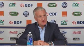 Conférence de presse de Didier Deschamps avant Pays-Bas et France-Uruguay