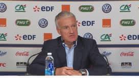 Equipe de France : Conférence de presse de Didier Deschamps avant Pays-Bas et France-Uruguay
