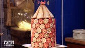Le meilleur pâtissier : La cage des tourtereaux de Mercotte