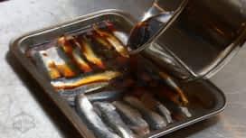 Objectif Top Chef : La cuisson en escabèche des sardines de Camille Delcroix