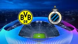 Champions League : 28/11 : Dortmund - FC Bruges