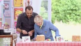 Le meilleur pâtissier : Cyril Lignac et Mercotte dégustent les gâteaux piñata à l'aveugle