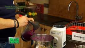 Martin Bonheur : Soupe de chou rouge aux pommes et porc pané - Spéciale Croix-Rouge
