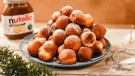 Jóízű Karácsony : Nutella®-val töltött bombolini