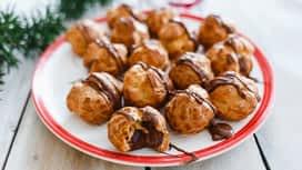 Jóízű Karácsony : Nutella®-val töltött choux
