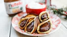 Jóízű Karácsony : Nutella®-val töltött quatayef tejszínhabbal