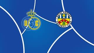 Croky Cup : 06/12: Union Saint-Gilloise - Knokke