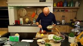 Martin Bonheur : Taboulé de chou fleur cru yaourt et faux gras - Spéciale faux gras