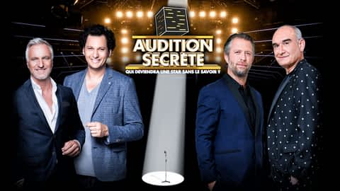 Audition secrète en replay