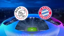 Champions League : 12/12: Ajax Amsterdam - Bayern Munich