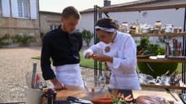 Objectif Top Chef : Camille est exigeante avec Fabio