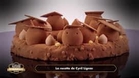 Le meilleur pâtissier, les professionnels : Le dessert à la banane de Cyril Lignac