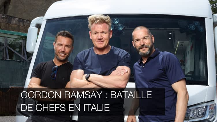 gordon ramsay bataille de chefs en italie gordon. Black Bedroom Furniture Sets. Home Design Ideas