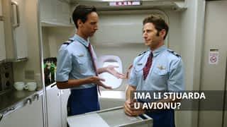 Ima li stjuarda u avionu?