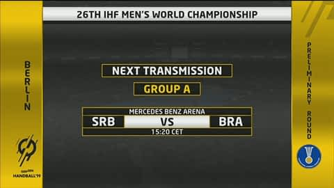 Grupa A - SP2019 : Srbija - Brazil