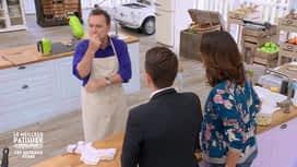 Le meilleur pâtissier - célébrités : La boulette de Julien Lepers