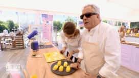 Le Meilleur Pâtissier - Chefs & Célébrités : Celia, le commis de Gilbert Montagné, rate son dressage !