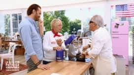 Le Meilleur Pâtissier - Chefs & Célébrités : Mercotte chante en duo avec Gilbert Montagné !