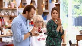 Le Meilleur Pâtissier - Chefs & Célébrités : La dégustation des gâteaux sur le thème du rêve américain