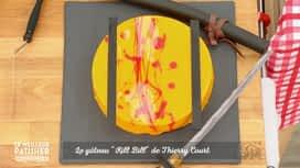 """Le meilleur pâtissier - célébrités : Le gâteau """"Kill Bill"""" de Thierry Court"""