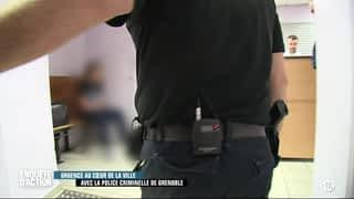 Urgence au cœur de la ville : avec la police criminelle de Grenoble