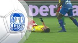 Croky Cup : 24/01: La Gantoise - Ostende : 1ère mi-temps