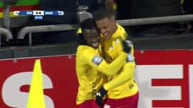 Croky Cup : 30/01: Ostende 2 - 0 La Gantoise
