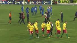 Croky Cup : 30/01: Ostende - La Gantoise : 1ère mi-temps