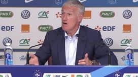 Equipe de France : Conférence de presse de Didier Deschamps avant Moldavie-France et France-Islande