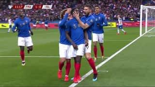 Umtiti ouvre le score (11') (1-0)
