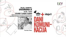 Dani komunikacija 2019. : Yousef Tuqan Tuqan : The New Tribes