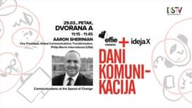 Dani komunikacija 2019. : Aaron Sherinian : Communications at the Speed of Change