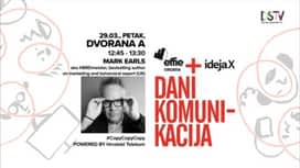 Dani komunikacija 2019. : Mark Earls : #CopyCopyCopy POWERED BY Hrvatski Telekom