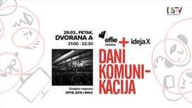 Dani komunikacija 2019. : Dodjela nagrada : EFFIE 2019 I MIXX