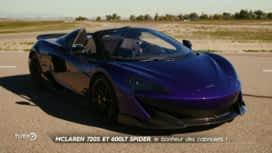 Turbo : McLaren 720S et 600LT Spider : le bonheur des cabriolets !