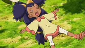 Pokémon : Iris et le Minotaupe contre la chasseuse de dragons !
