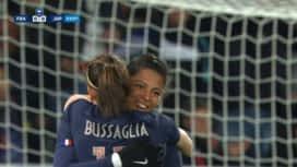Football - Équipe de France féminine : France - Japon (3') : but de Valérie Gauvin