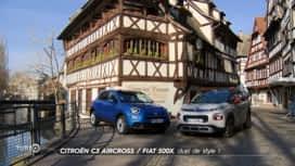 Turbo : Citroën C3 Aircross et Fiat 500X : duel de style !