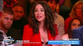 Touche pas à mon poste : Emilie, ancienne candidate de télé-réalité, balance sur la drogue...