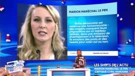 Touche pas à mon poste : Marion Maréchal Le Pen s'attaque à Hanouna