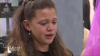 Alexandra et sa fille émues aux larmes